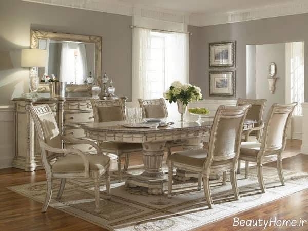 مدل میز ناهار خوری استیل شیک و زیبا