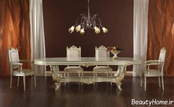 میز ناهار خوری زیبا و جدید