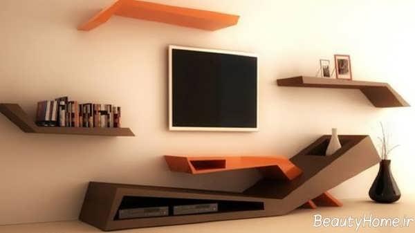 مدل میز تلویزیون دیواری جدید