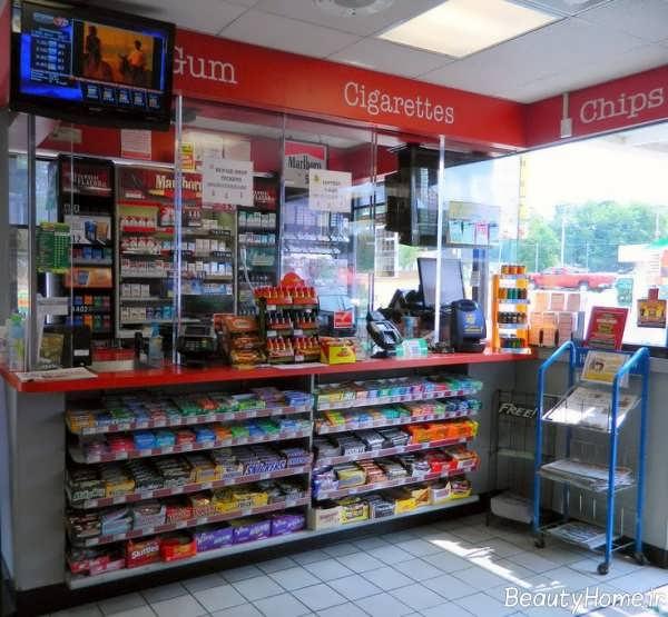 طراحی دکوراسیون داخلی سوپر مارکت