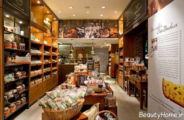 دکوراسیون داخلی سوپر مارکت