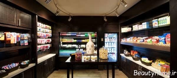 دکوراسیون زیبا و شیک سوپر مارکت