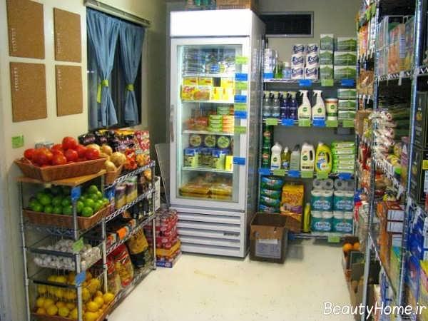 طراحی داخلی سوپر مارکت
