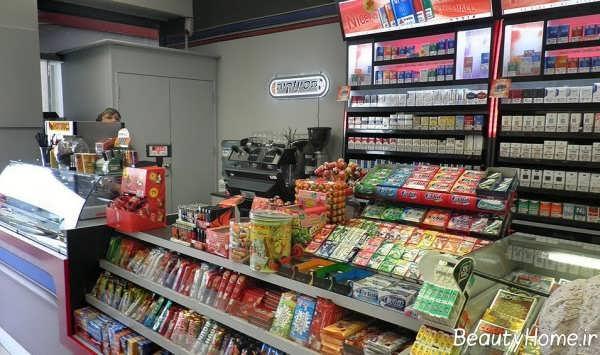 دیزاین داخلی سوپر مارکت