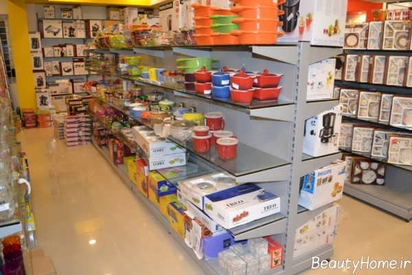 دکوراسیون سوپر مارکت با طراحی زیبا و کاربردی