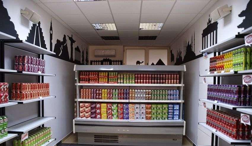 طراحی دکوراسیون سوپر مارکت