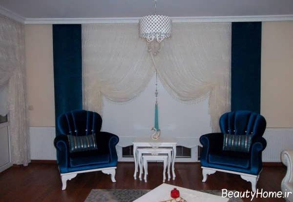 مدل پرده شیک و زیبا برای اتاق پذیرایی