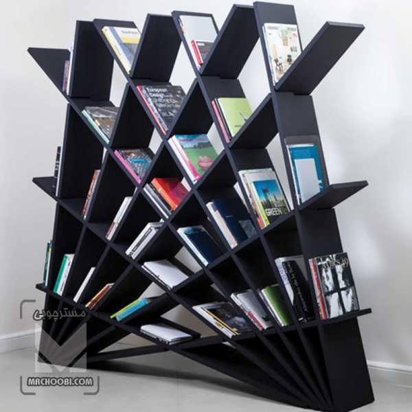 کتابخانه شبگون با طراحی به روز