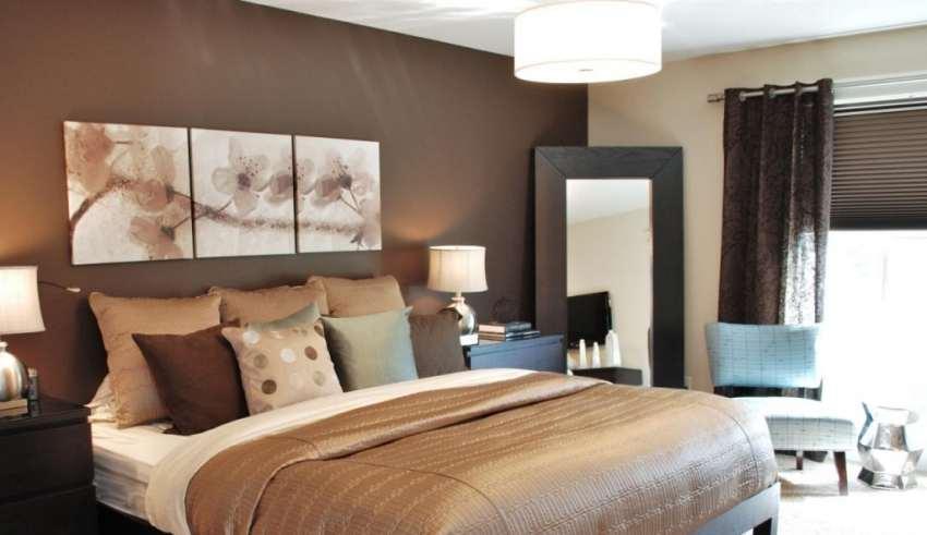 دکوراسیون اتاق خواب گرم و زیبا