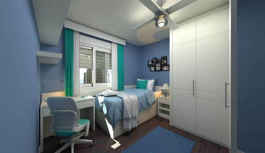طراحی داخلی اتاق جوانان