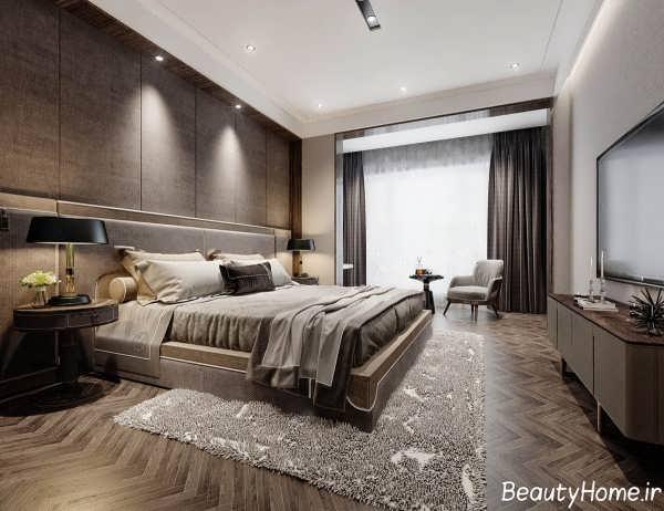 طراحی دکوراسیون داخلی اتاق خواب لاکچری