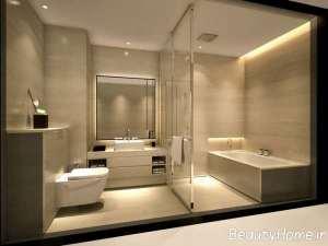 دکوراسیون زیبا و جذاب حمام