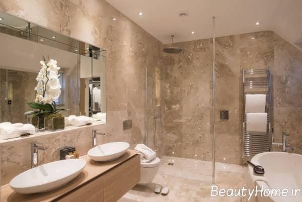 20 Luxury Small Bathroom Design Ideas 2017 2018: طراحی حمام های مدرن و لاکچری با ایده های زیبا