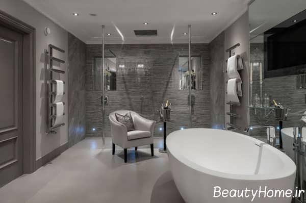 دکوراسیون زیبا و متفاوت حمام