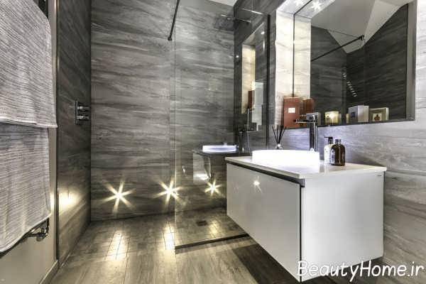 دکوراسیون زیبا و جالب حمام