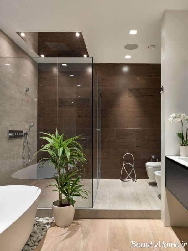 طراحی داخلی جذاب حمام