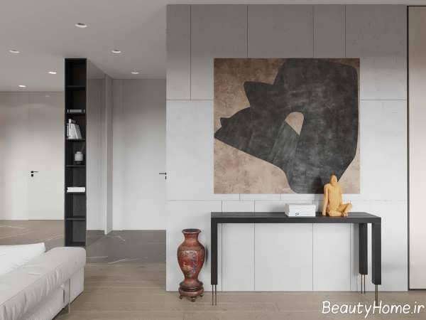 دکوراسیون زیبا و جذاب خانه آپارتمانی