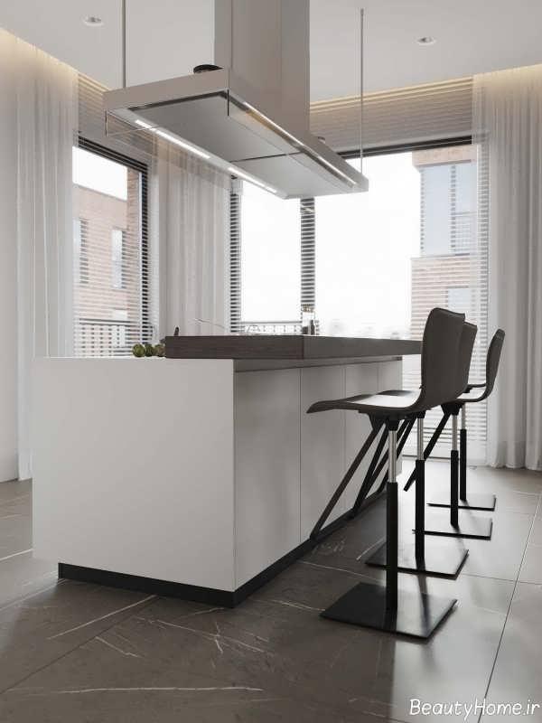 دکوراسیون داخلی آشپزخانه زیبا