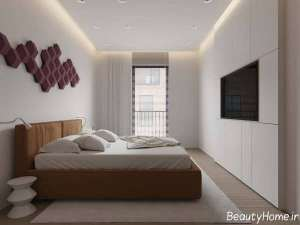 دکوراسیون اتاق خواب زیبا و شیک