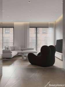 طراحی زیبا و کاربردی اتاق نشیمن