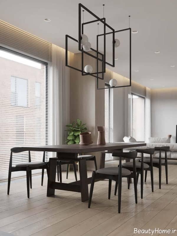 دکوراسیون داخلی آپارتمان زیبا