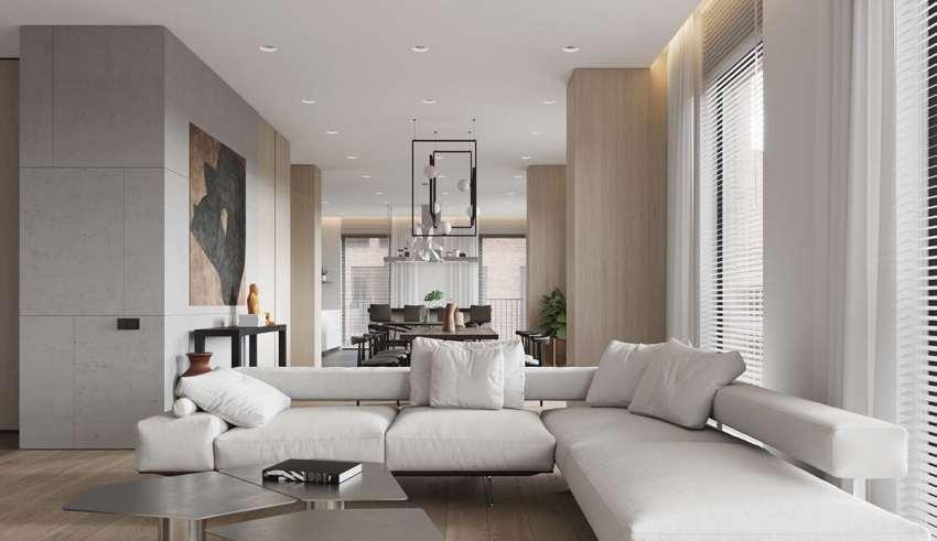 طراحی دکوراسیون آپارتمان زیبا