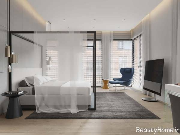 طراحی دکوراسیون اتاق خواب بزرگ