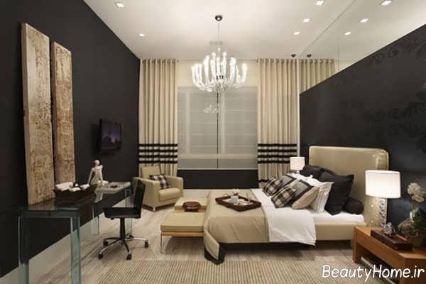 دکور اتاق خواب با طراحی شیک و کاربردی