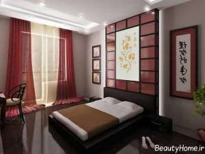 دکوراسیون زیبا و جالب اتاق خواب