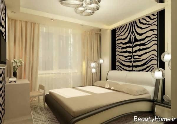طراحی داخلی شیک و جالب اتاق خواب