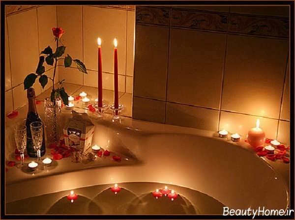 ایده هایی برای تزیین کردن سرویس بهداشتی با شمع