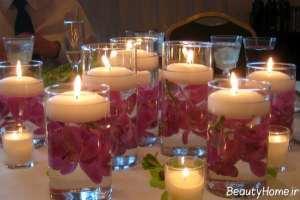 ایده هایی برای تزیین منزل با شمع