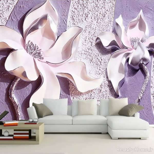 مدل کاغذ دیواری سه بعدی و شیک پوستری