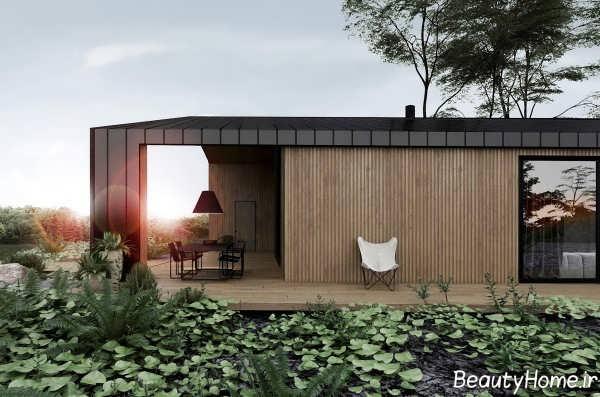 طراحی داخلی ویلای اروپایی مدرن