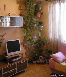 تزیین منزل با گل های طبیعی