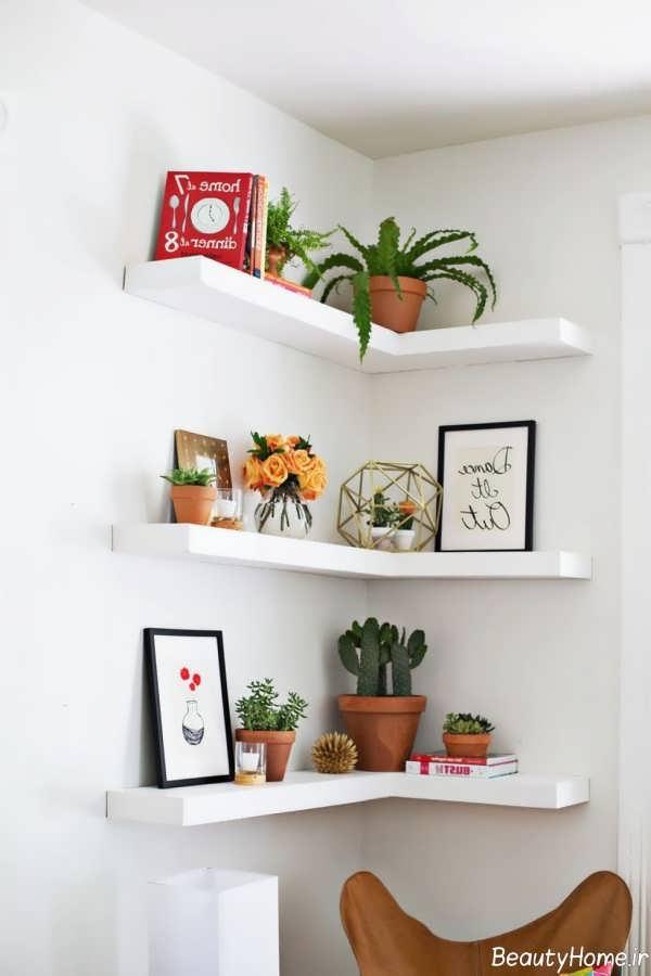 تزیین زیبا منزل با گلدان