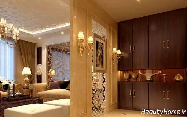 طراحی نورپردازی سالن پذیرایی
