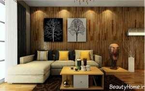 دکوراسیون زیبا و خلاقانه سالن پذیرایی