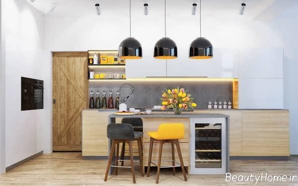 دکوراسیون جالب و شیک آشپزخانه