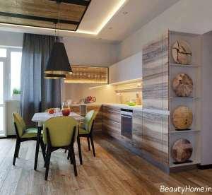دکوراسیون آشپزخانه زیبا و مدرن