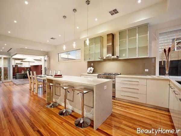 دکوراسیون شیک و جذاب آشپزخانه