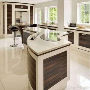 دیزاین دکوراسیون آشپزخانه مدل جزیره