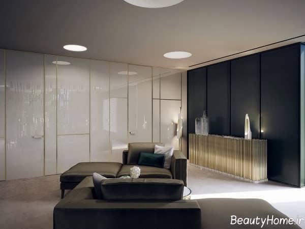 طراحی زیبا و مدرن خانه ویلایی