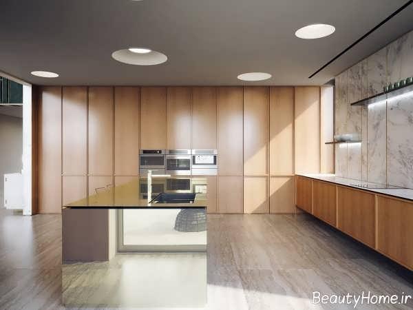 طراحی شیک و کاربردی خانه ویلایی