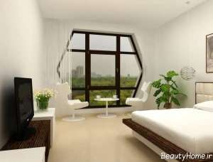 مدل پنجره زیبا اتاق خواب