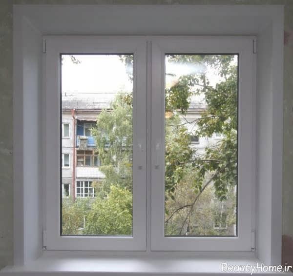 مدل پنجره ساده ساختمان