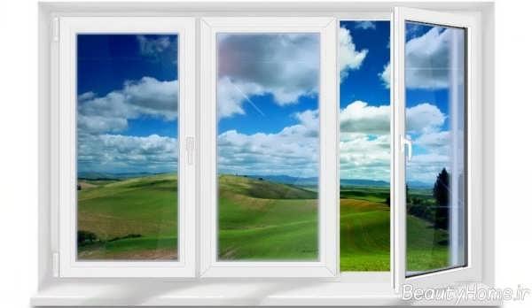 مدل پنجره شیک و ساده