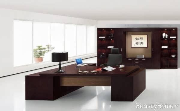 دکوراسیون دفتر کار مدرن و شیک