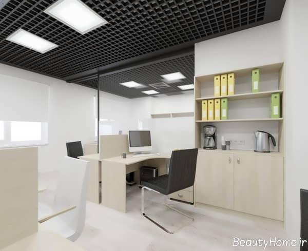 طراحی دکوراسیون دفتر کار مدرن و امروزی