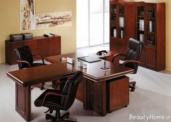 طراحی دکوراسیون دفتر کار شیک و جذاب